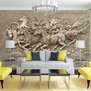 Poster Duvar Kağıdı Atlar