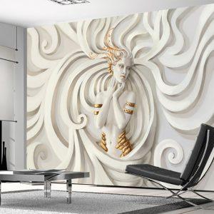 3D Görünümlü Duvar Kağıtları