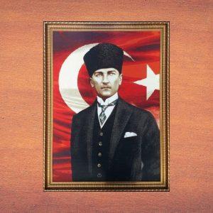 Dokuma Atatürk Tablosu