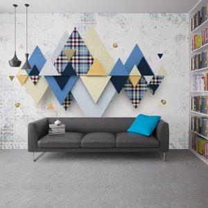 3 boyutlu tasarım duvar kağıdı 2020