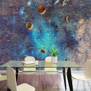 Taş duvar ve gezegenler