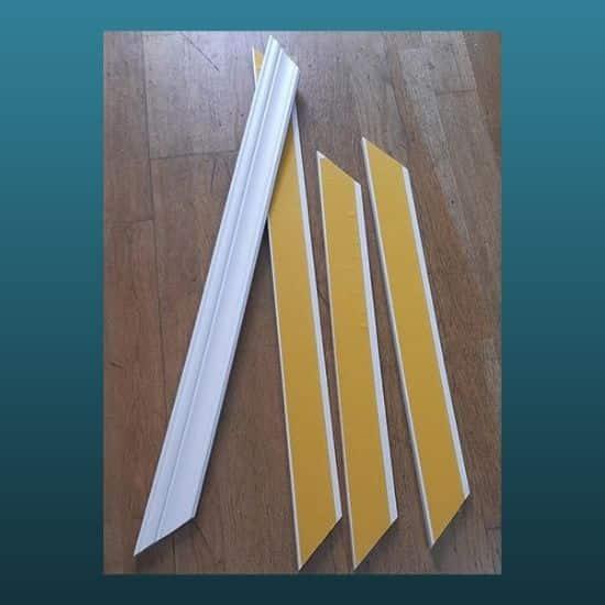 Montaja Hazır 80cmx60cm 4 cm Duvar Çıtası