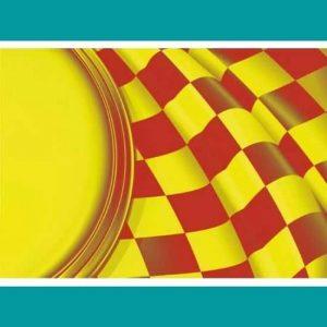 Sarı kırmızı bayrak