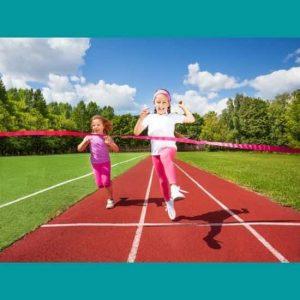 Çocuklar atletizm