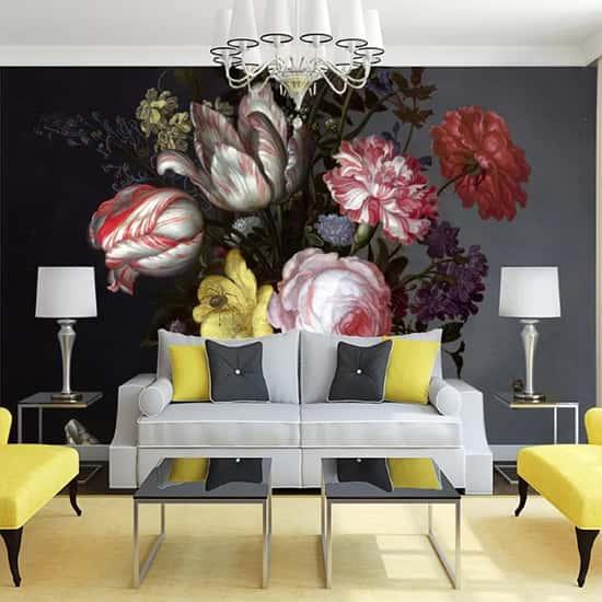 Çiçek Buketi Duvar Kağıdı