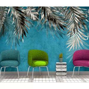Tavandan Sarkan Palmiye Duvar Kağıtları