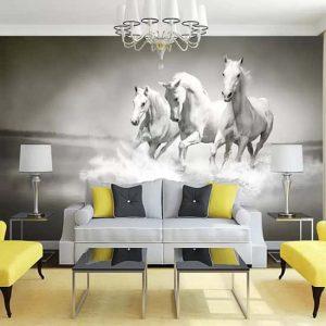 Beyaz Atlar Duvar Kağıtları