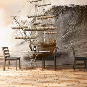 Ahşap Yelkenli Gemi