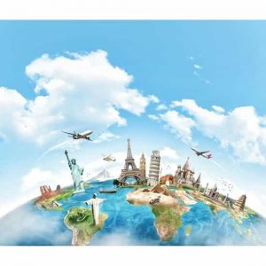 Turizm Harita Duvar Kağıdı