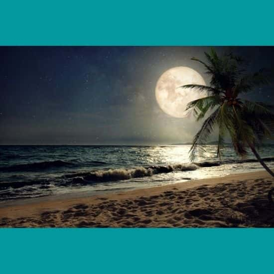 Deniz Gece Manzarası