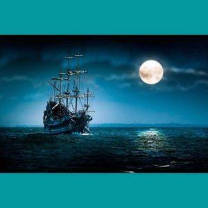 Karanlıkta Gemi ve Ay