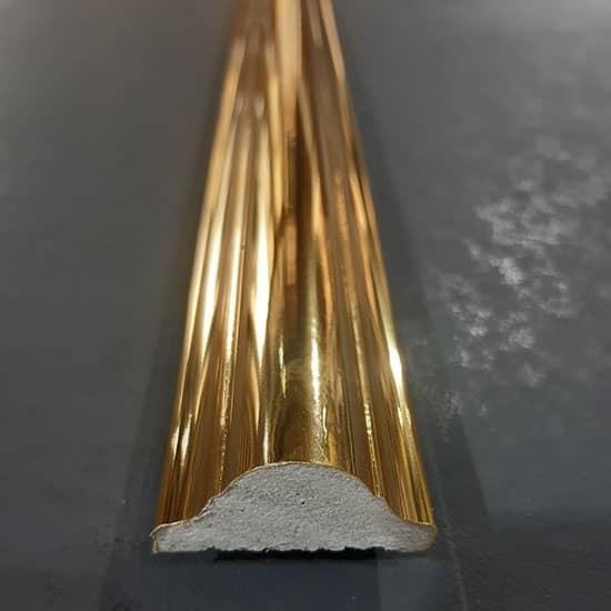 4 cm Gold Altın Duvar Çıtası