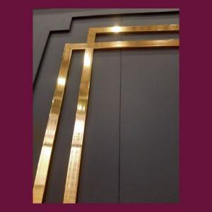 4cm altın duvar çıtası